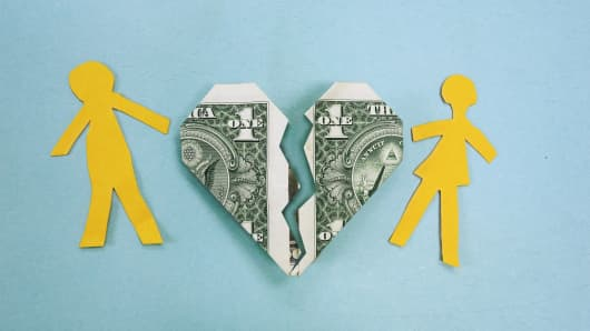 Liquidating assets during divorce dating