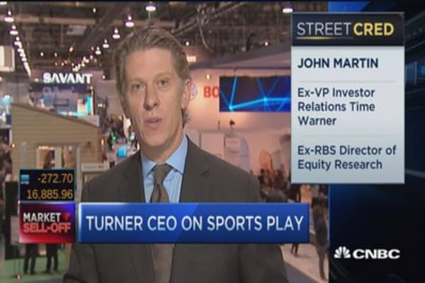 Turner CEO: Excited to blur the lines of advertising content