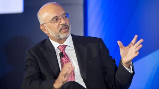 Piyush Gupta, chief executive officer of DBS Group