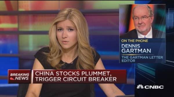 Gartman: Definitely a bear market now