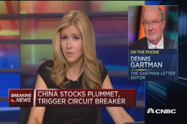 Gartman: Definitely a bear market now