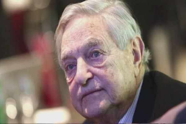 Soros says it's the 2008 crisis all over again
