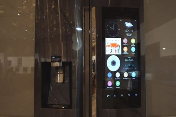 The $5K fridge at CES