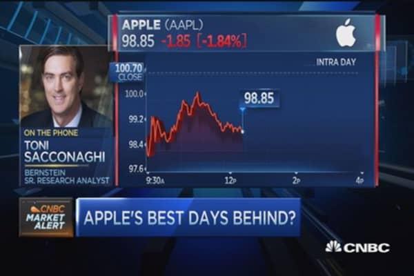 Apple gets peeled