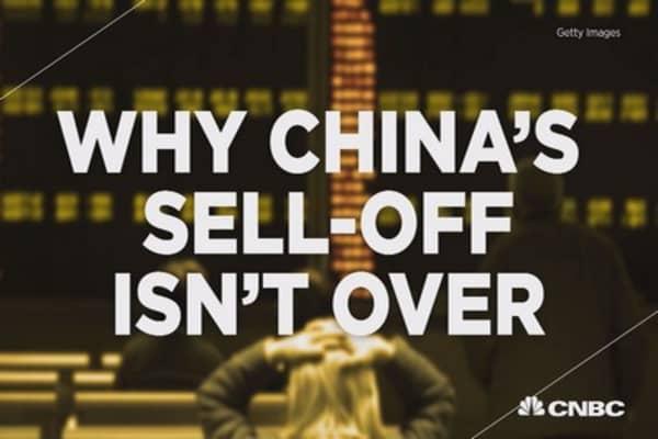 Three reasons why China's market turmoil isn't over