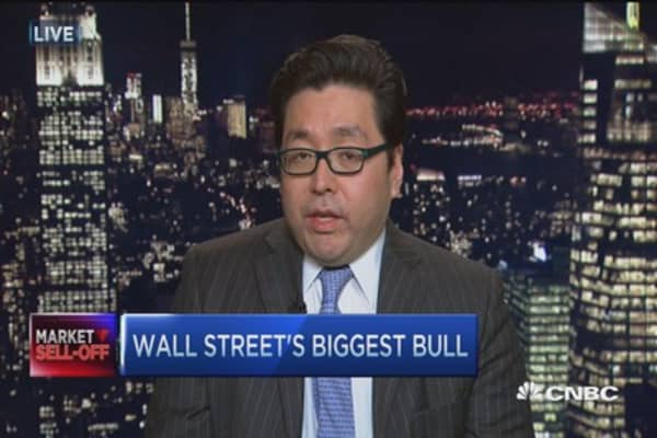 Early losses not enough to lower full-year forecasts: Tom Lee