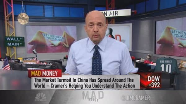 Cramer: Planning for the worst with China