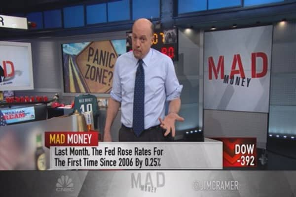 Cramer: The mechanics of what causes a selloff