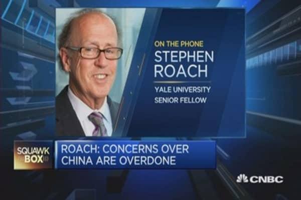 Roach: China's markets do not reflect economy