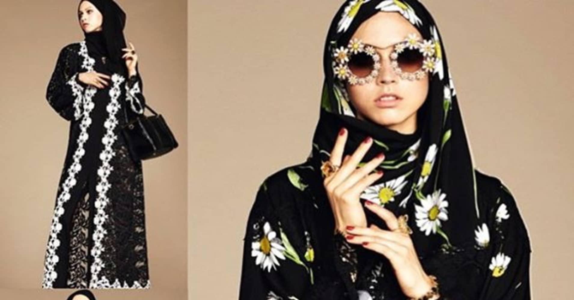 c01c39352 Dolce & Gabbana launch range of hijabs and abayas