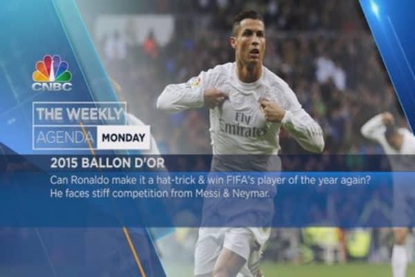 Ronaldo, Airbus, Obama: Weekly Agenda