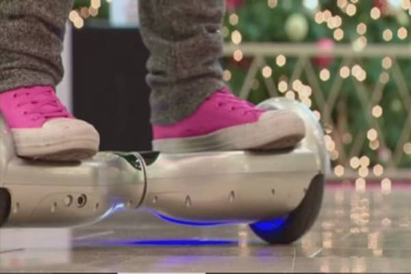 Hoverboard copyright infringement at CES