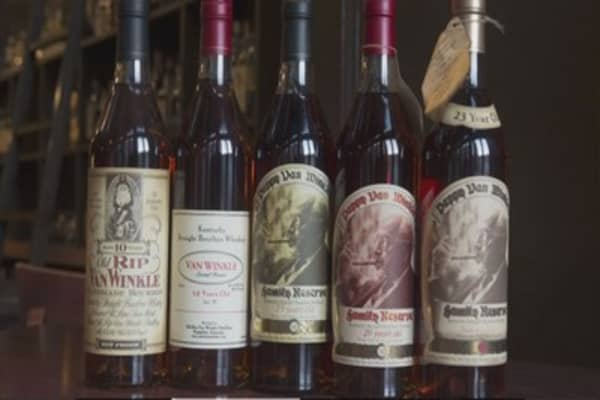 Prized Pappy Van Winkle whiskey may be destroyed