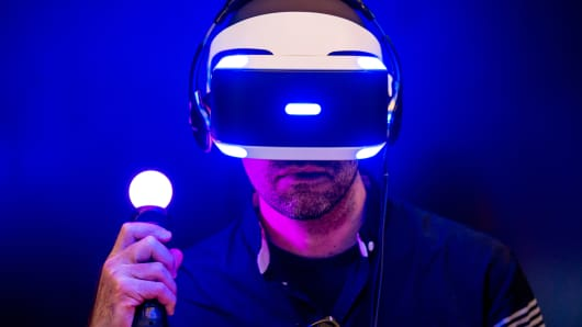 Sony Project Morpheus virtual-reality headset