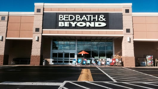 Bed Bath & Beyond, a home goods store, at Jacksonville Beach, Florida
