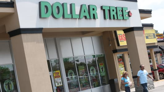 A Dollar Tree store location.