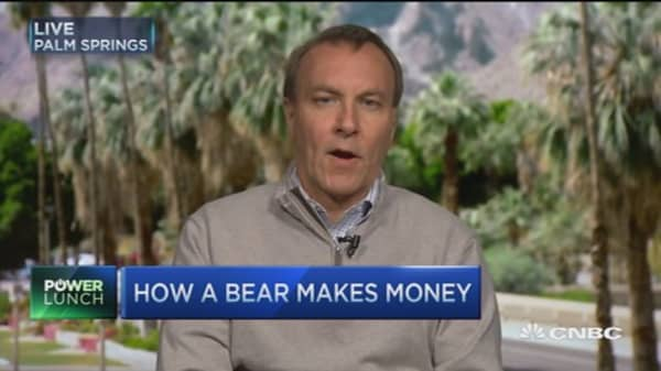 How a bear makes money