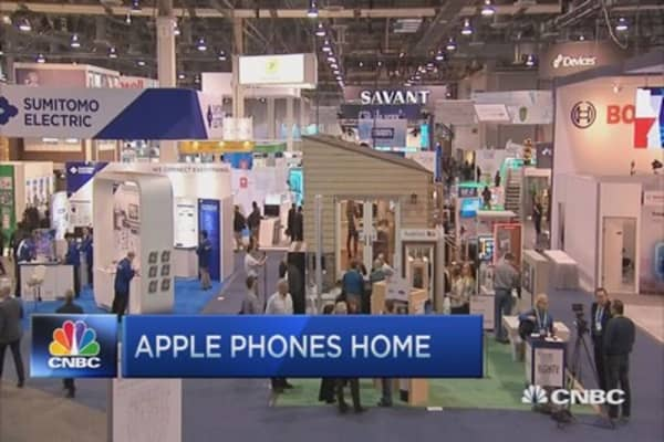 Apple's smart home push