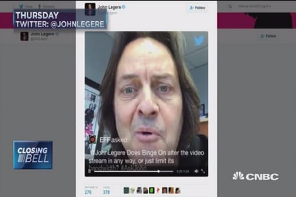 T-Mobile's Legere: 'Who the eff are you, anyway?'