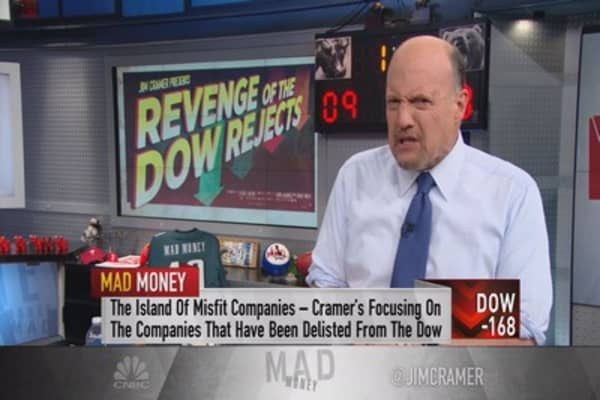 Cramer: Revenge of the Dow rejects?