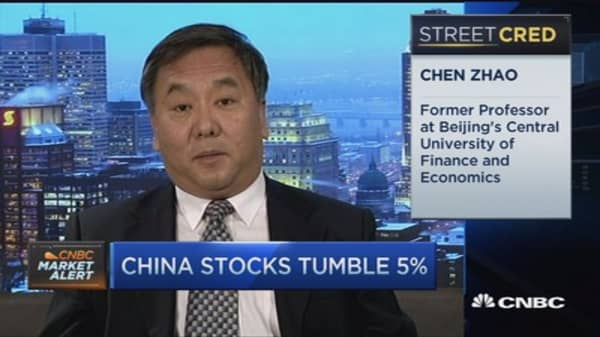 China's markets 'spooked' by economic policy: Pro