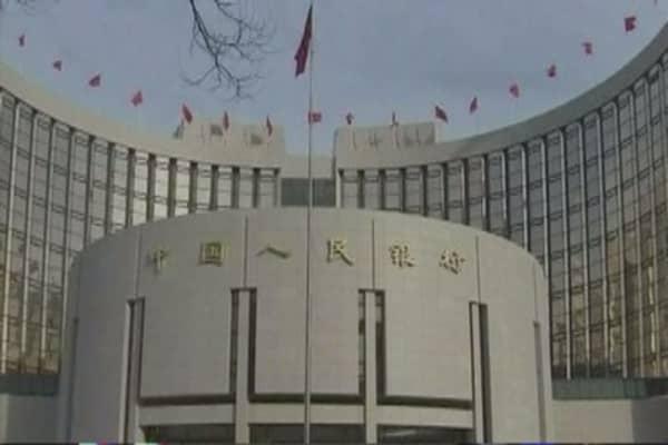 Offshore yuan borrowing rates surge