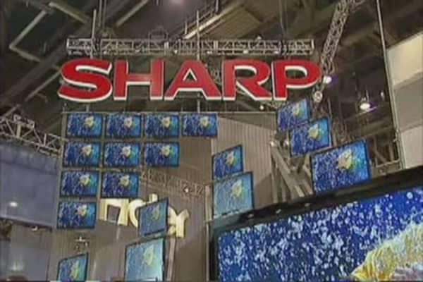 Sharp gets a $1.7B bailout offer