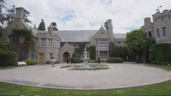 Playboy Mansion for sale, with one condition