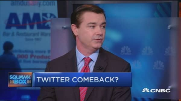Twitter shares down 48% in past year