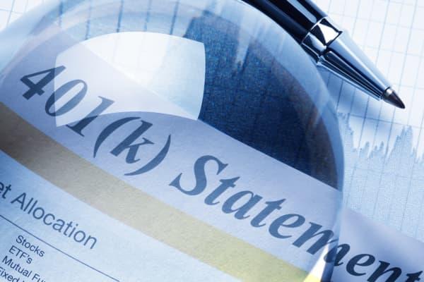 401K statement fees