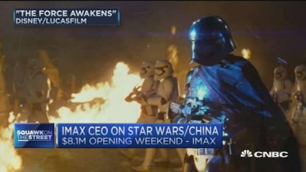 Disney's Star Wars push in China