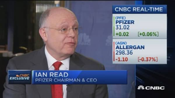 Pfizer CEO: Majority of drugs developed by pharma industry