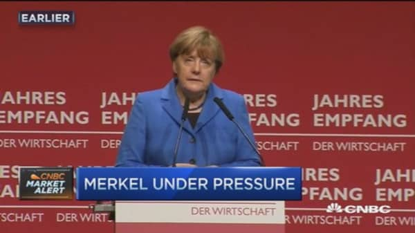 Angela Merkel facing pressure over Germany's migrant crisis