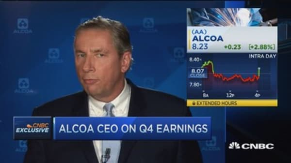 Alcoa CEO: Look at the upside that this business has