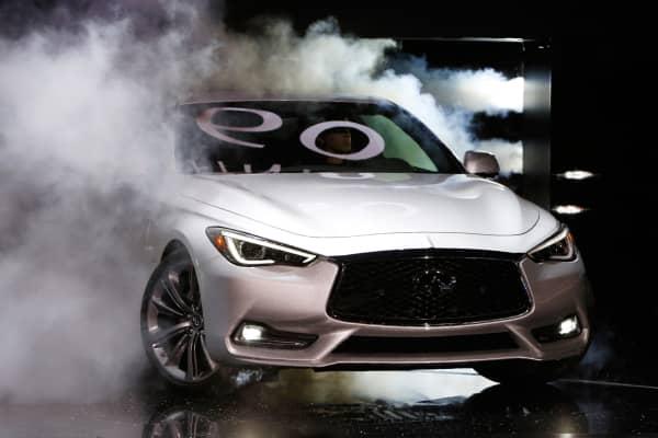 2017 Infiniti Q60 Detroit Auto Show
