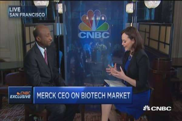 Merck CEO:  Our competitive regimen will be huge for marketplace