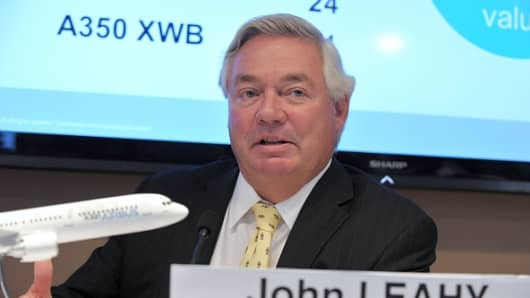 Airbus Chief Operating Officer John Leahy