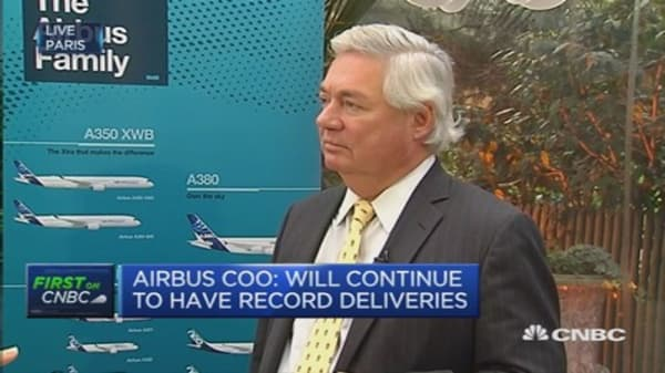 We have stable FX forecast: Airbus