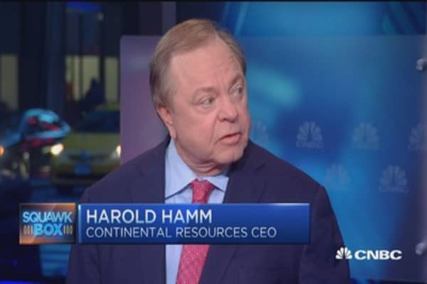 Aramco IPO indication Saudi oil policy not working: Harold Hamm