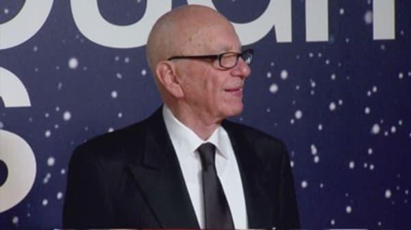 Media mogul Rupert Murdoch engaged