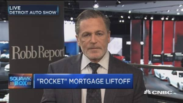 Get a mortgage 'Rocket' fast: Quicken Loans CEO