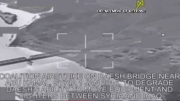 US Airstrike destroys millions in ISIS cash