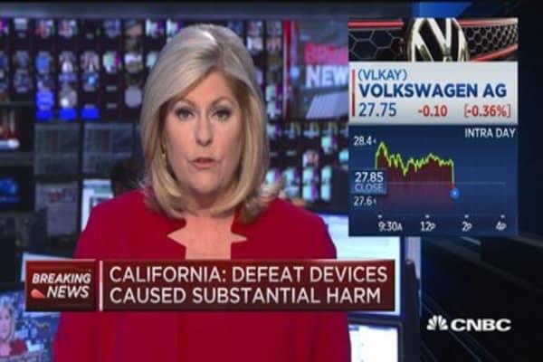 California rejects VW's diesel recall plan