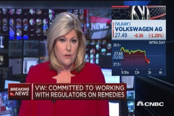 VW responds to diesel recall plan rejection