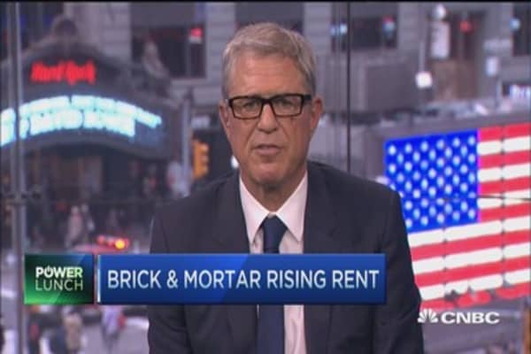 Brick & Mortar rising rent