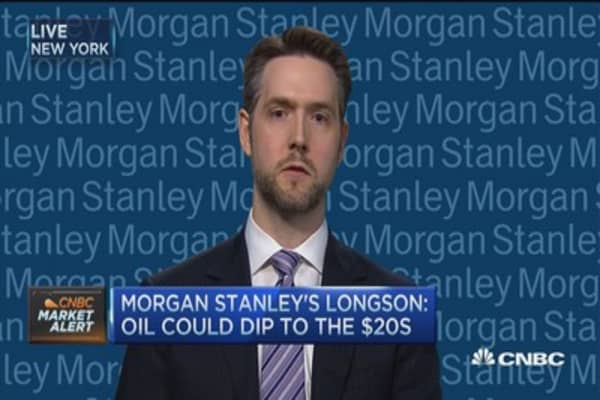 Oil could dip to $20s: Morgan Stanley's Longson