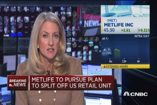MetLife to pursue plan to split off US retail unit