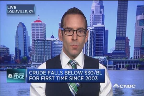 Executive Edge: Oil's 'double whammy'