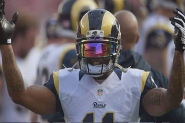 NFL's St Louis Rams approved to move to Los Angeles
