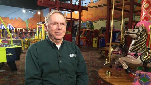 Larry Stottlemyer, owner of Adventure Park USA, is concerned about what a paid sick mandate may mean for his small business.